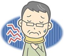 淡路市いとう鍼灸接骨院の交通事故・むち打ち症のイラスト